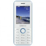 MAXCOM MM136 Dual Sim White Blue